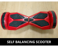 "8"" Two Wheel Red Self Balancing Electric Scooter Hoverboard SAA Certified"