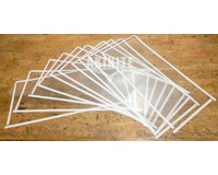 10 Pack of Sandblaster Sandblasting Cabinet Protective Screens For Upright Heavy Duty Model
