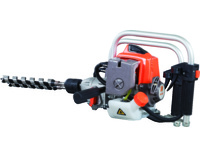 "Petrol Engine Drill 25.4CC Heavy Duty 2 Stroke Power Auger Drill With 1/2"" Keyless Chuck"
