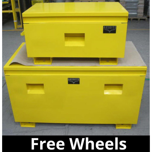 Combo Pack Steel Site Box Heavy Industrial Site Storage Box Job Site & Ute Box