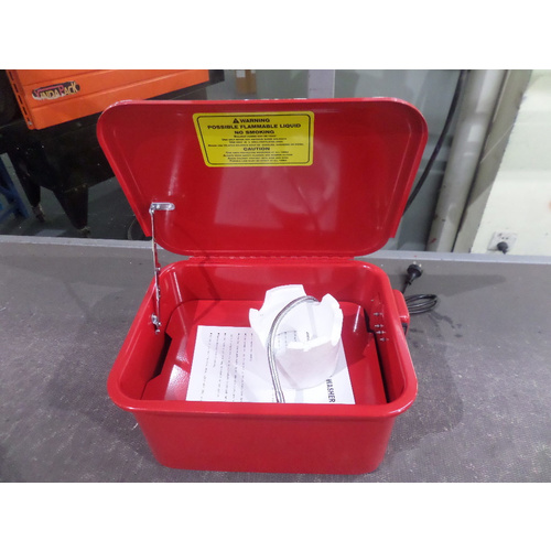 Parts Washer 3.5 Gallon Portable Workshop Model