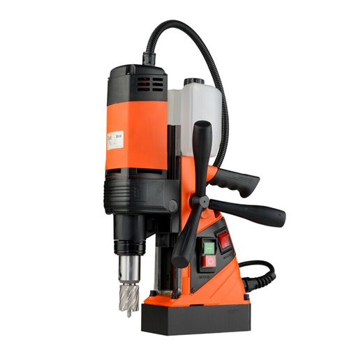 Magnetic Base Drill Machine 35mm Capacity Suitable For Annular Cutting Drill Bits