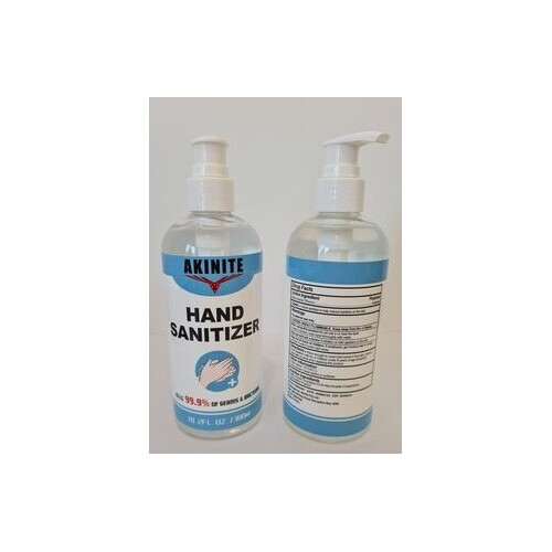 Hand Sanitiser Gel 75% Alcohol Based Antibacterial Sanitizer Gel 300ML